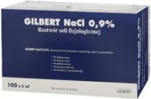Gilbert NaCl 0,9% 1 amp. 5ml